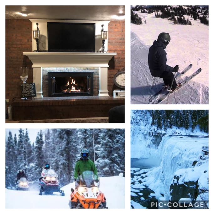 Your home for winter adventure. Some of the Best skiing and snow machining in the world!