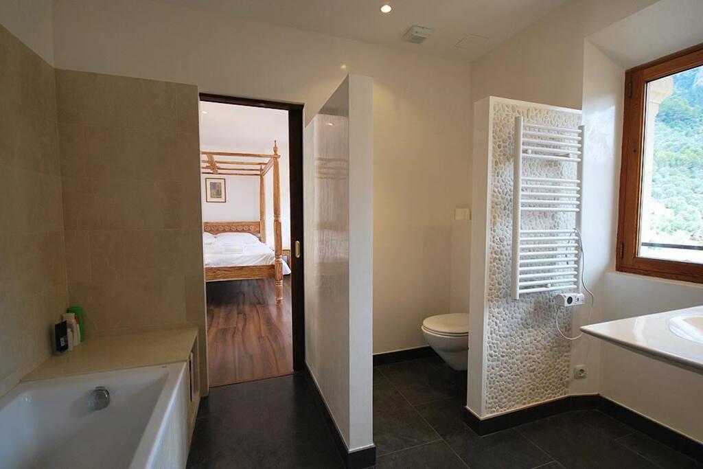 A. The bathroom
