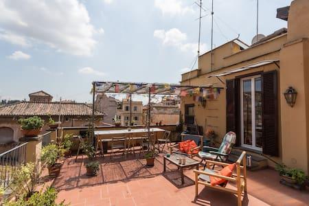 Bohemian Loft in Trastevere