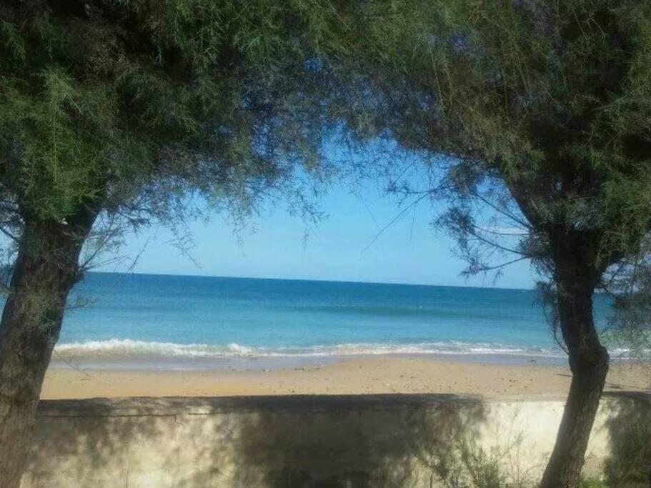 La spiaggia di Lendinuso
