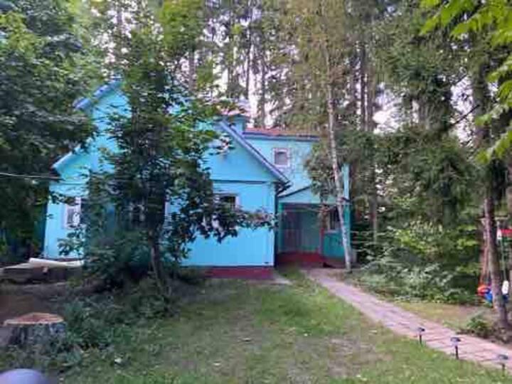 Дом с прекрасным видом в посёлке Жаворонки