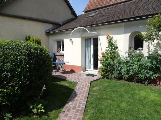 Une petite terrasse privée / Una pequena terraza privada / a small private terrace
