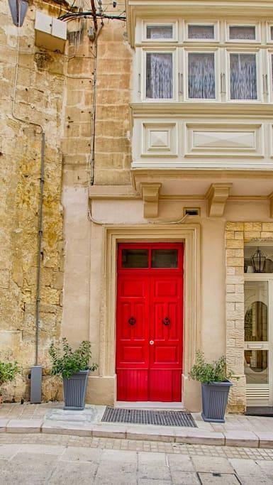 Old traditional Maltese door