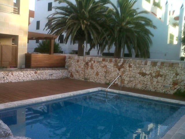 Precioso bajo con jardin y piscina - Ciutadella de Menorca - Hus