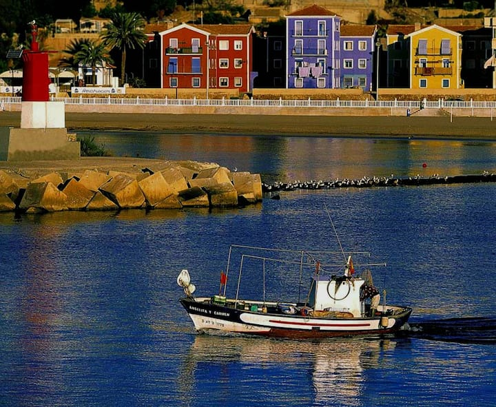 Casa pescadores en primerísima linea playa