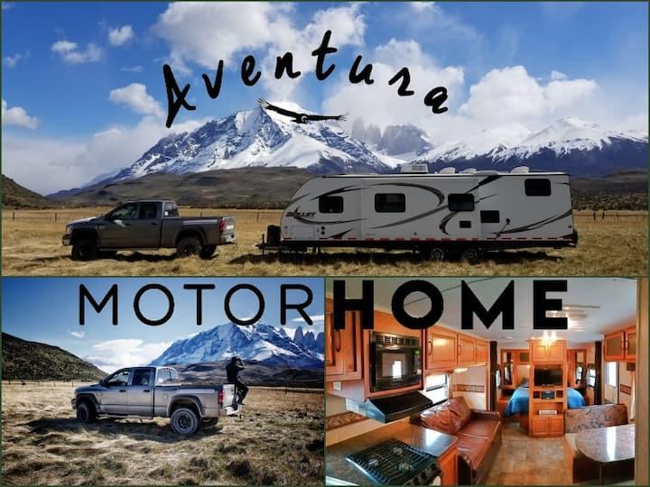 Aventura MotorHome (Bullet) en Torres del Paine