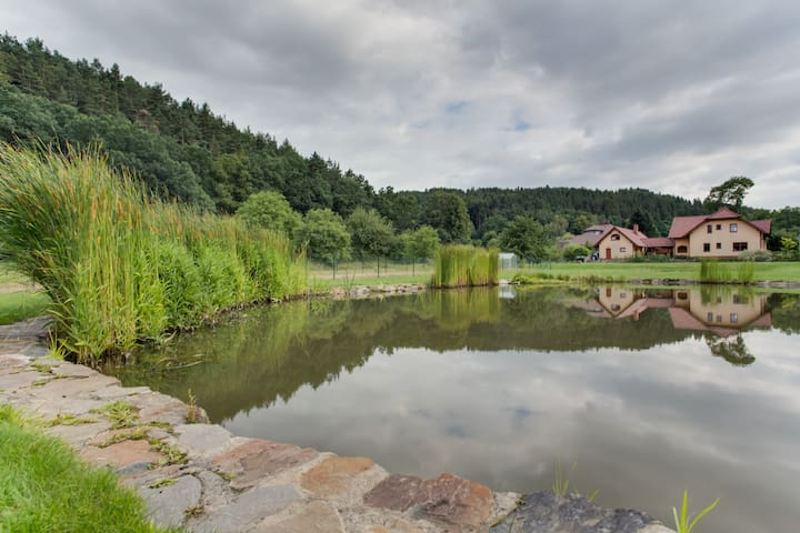 BEATIFUL trout & sheep farm house - Opava - House