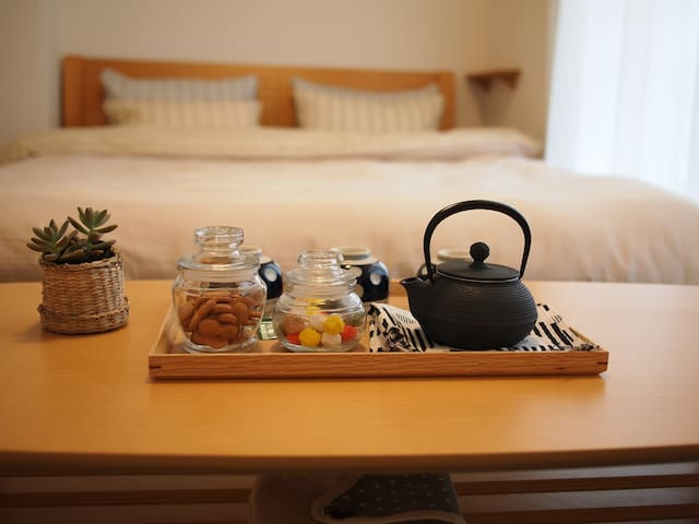 *NEW MUJI ROOM*5mins to JR Station*Namba*USJ*Umeda - 大阪市 - Pis