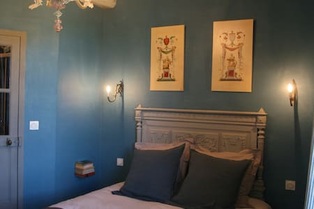 Room Bleu Persan - Souzay-Champigny - Bed & Breakfast