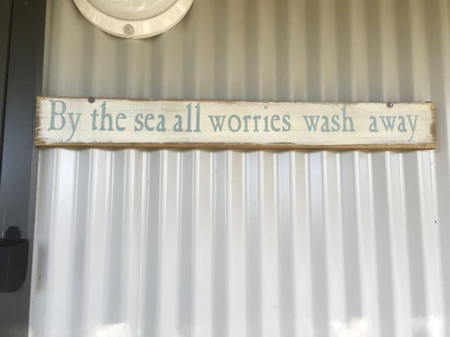 By the sea all worries wash away - Walkerville