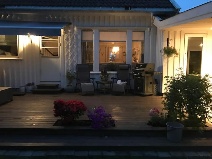 Flott hus midt mellom Larvik og Stavern.