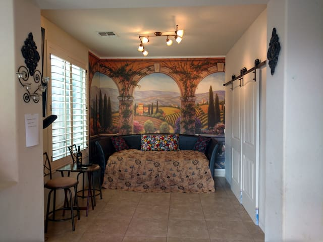 Private ensuite with living room & bedroom/bath - Chandler