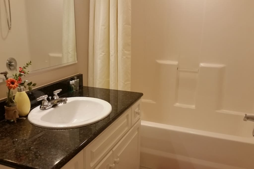 Unit-B Full Private Bathroom