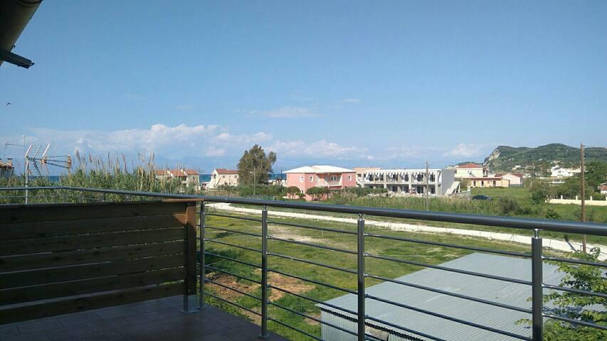 Theo's apartment in Sidari