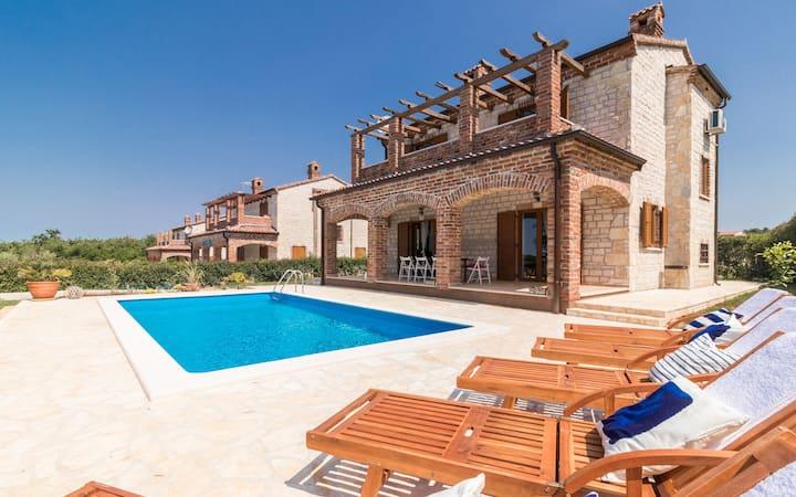 Villa Paradis 24 in Istria for 10 persons