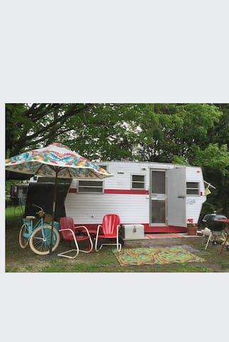 Vintage Shasta Camper