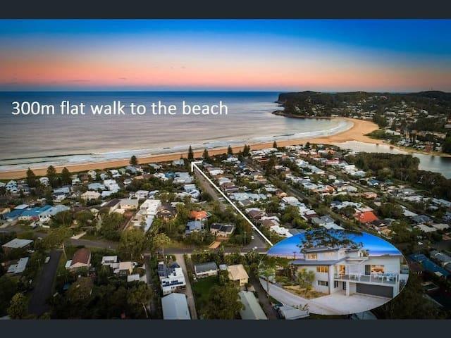North Avoca - Beach Flat (brand new)