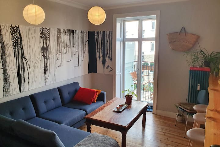 Spacious, bright & central room on Nørrebro