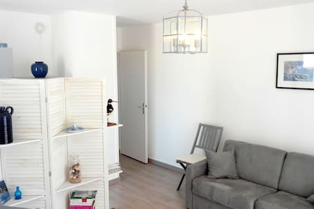 Beau 42m², balcon, garage, 50m plage - Le Croisic - Huoneisto