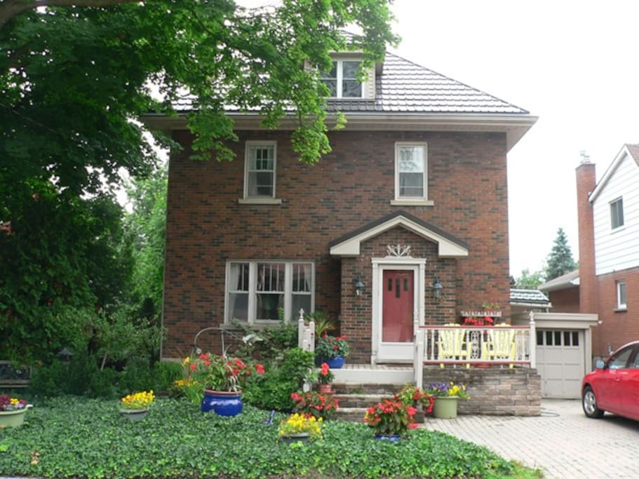 Our house, 172 Ballantyne Avenue ... steps from the Festival Theatre.
