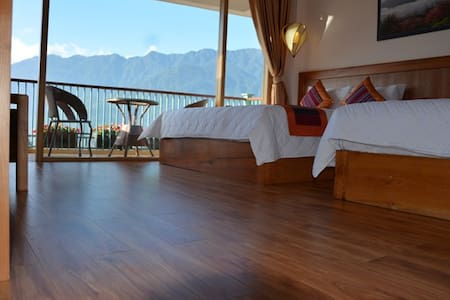 Sapa Family Room with Moutain View