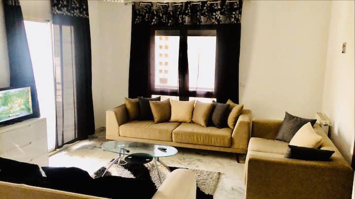appartement meublé s+1 lac2 VIP  شقة جديدة لاك 2
