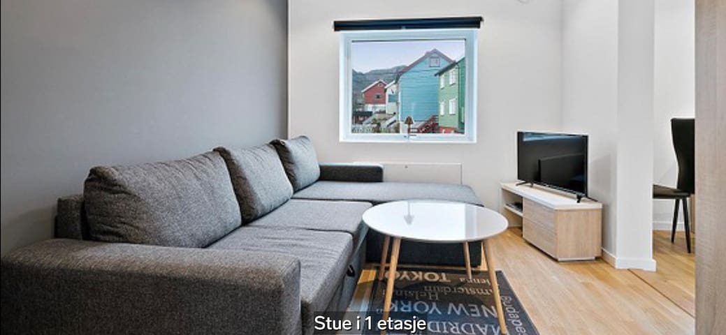 2. Renovated Apartment in Honningsvåg, Northcape.