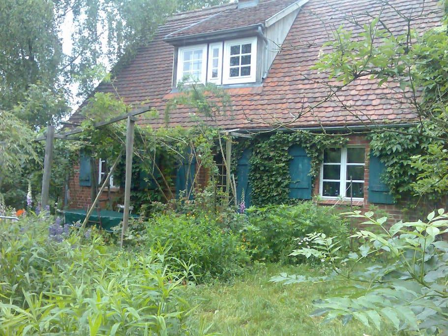 romantisches landhaus ganz f r euch huizen te huur in gro pankow prignitz brandenburg. Black Bedroom Furniture Sets. Home Design Ideas