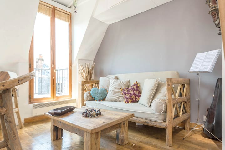 Charming loft Canal Saint Martin - Paris - Apartment