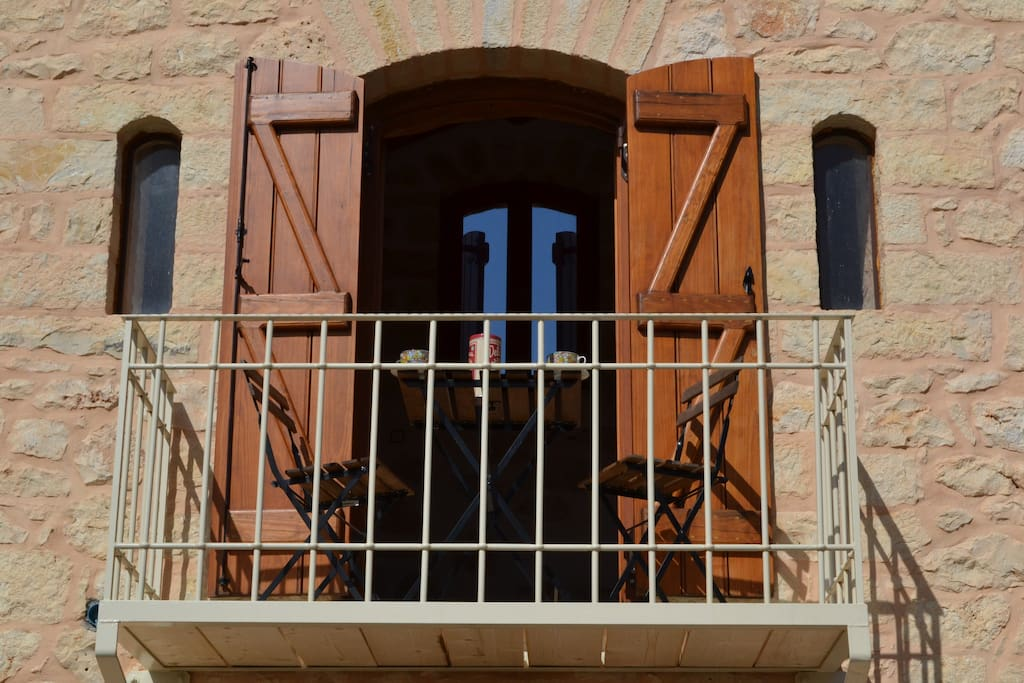 Villa Artemis balcony