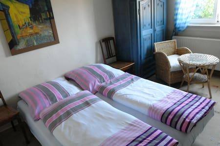 Zimmer in Thüringer Schieferhaus - Nahetal-Waldau - 家庭式旅館