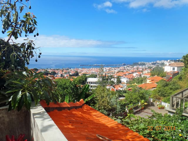 Nice quiet studio - great views  - Funchal - Haus