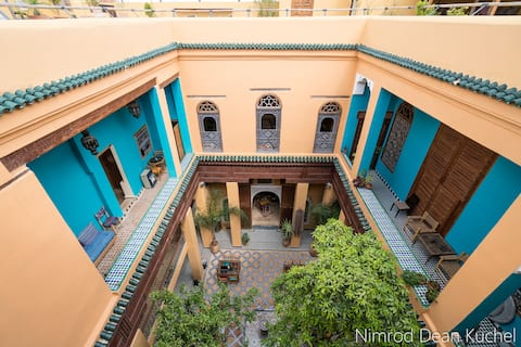 Triple rooms in a wonderful riad in the medina