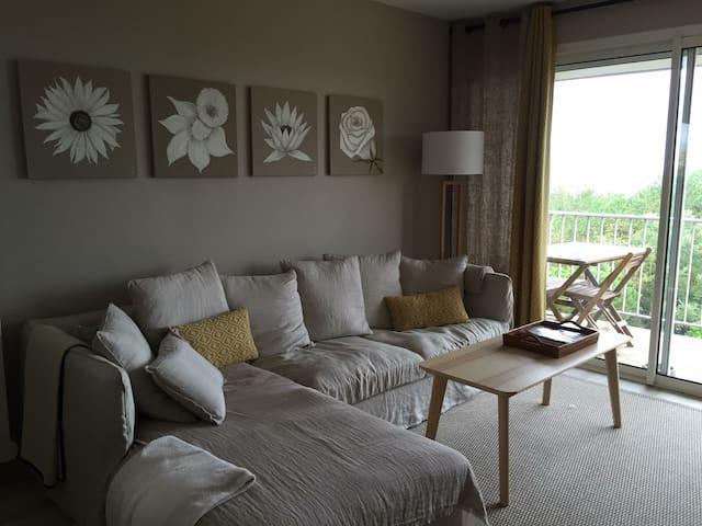 Appartement Cosy Vue Mer & Accès Direct plage - Saint-Brevin-les-Pins - Apartment