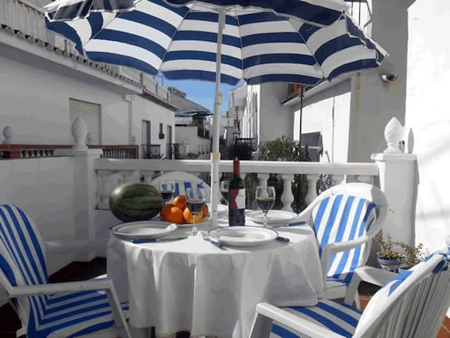 Pure Andalucia on 3 house-levels - Torrox - Casa