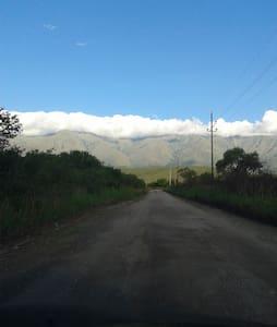 LAS LINDERAS San Javier cabaña con PILETA olimpica - Yacanto - Cabaña