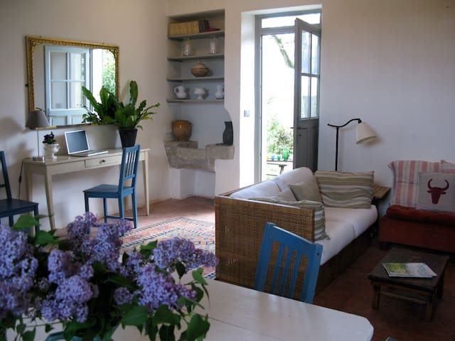 Charming attached cottage 5 mins from Nerac. - Nérac - Apartmen