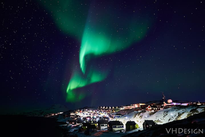 During the dark months this place is a really good place to see the Aurora Borealis.