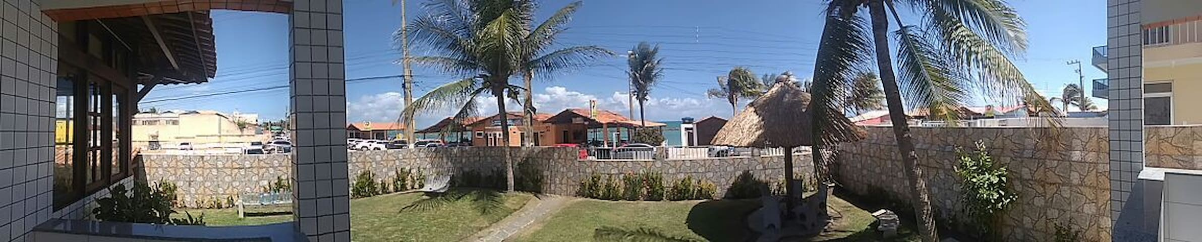 Apartamento em frente ao mar na Barra - Barra de São Miguel - Apartamento