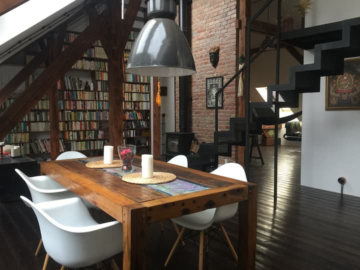 amazing beautiful loft in centrum of Bratislava