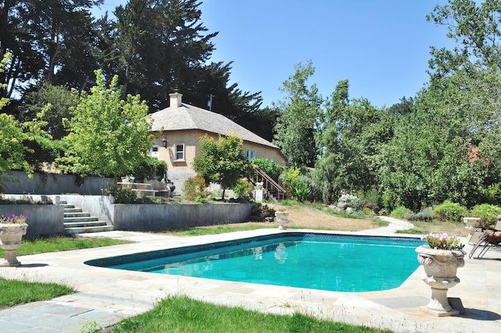 The Guest House at Azari Vineyards - pool + views