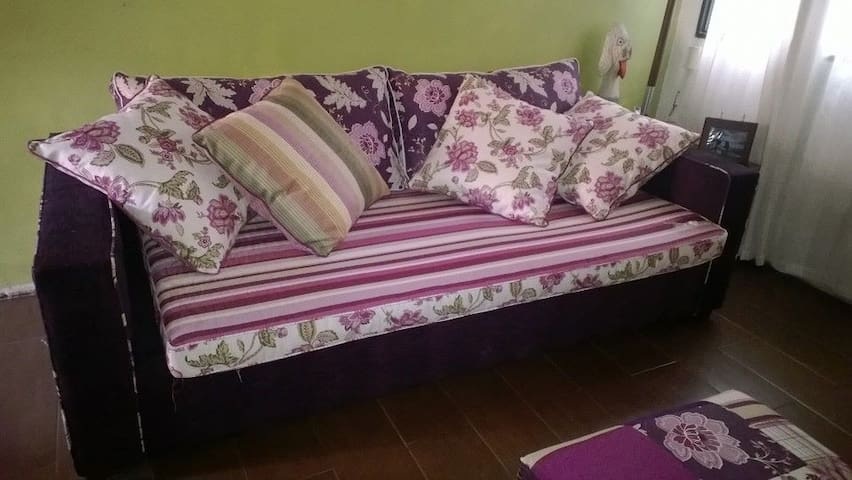 Sofa cama in a living room - Montevideo - Pis