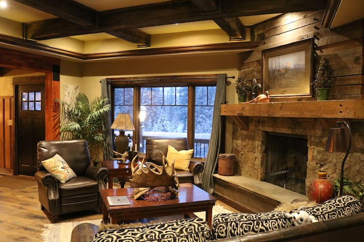 Luxury home at the base of Bridger bowl ski hill