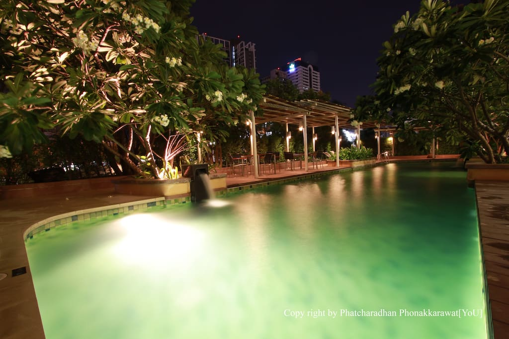 Recharge energy at Swimming Pool