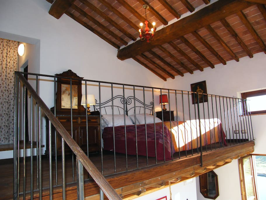 The Red Loft, sleeping area