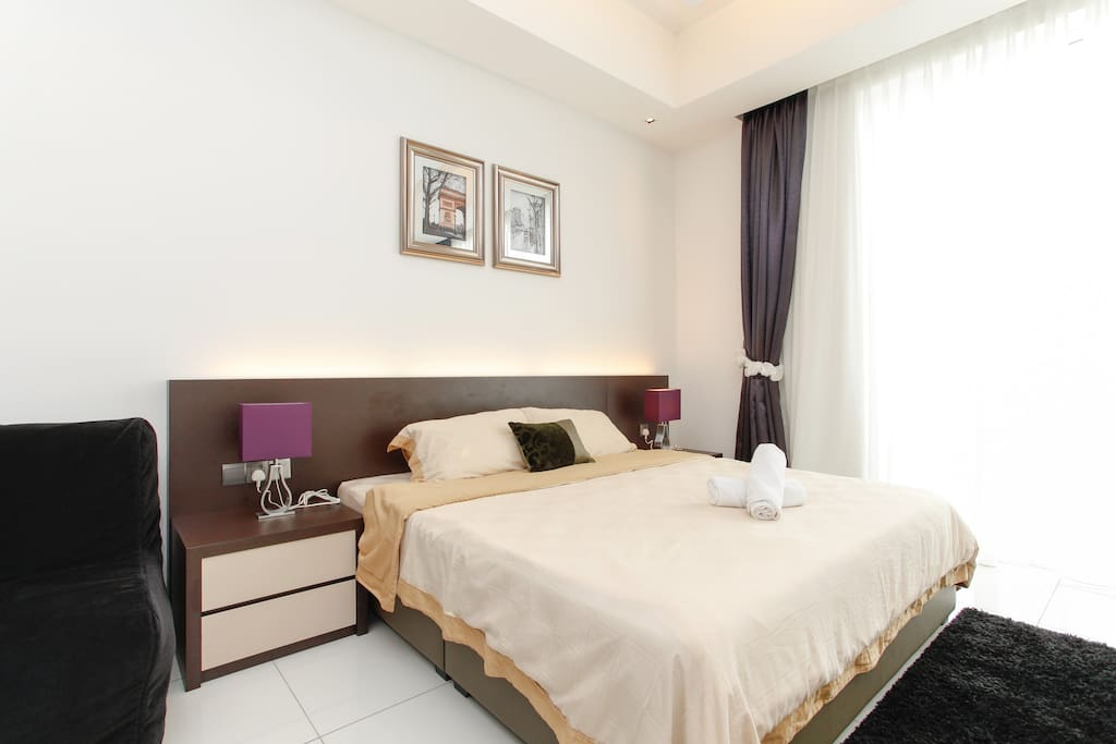 Posh Studio Suite For 3 Pax In Klcc Apartments For Rent In Kuala Lumpur Federal Territory Of
