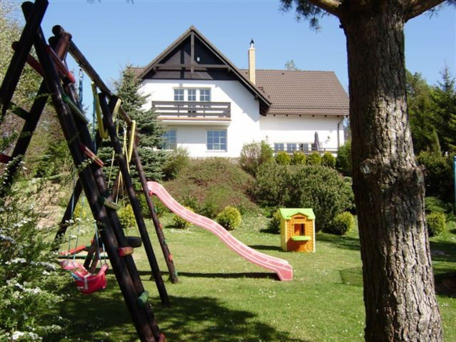 Our summer house - ideal for families with children