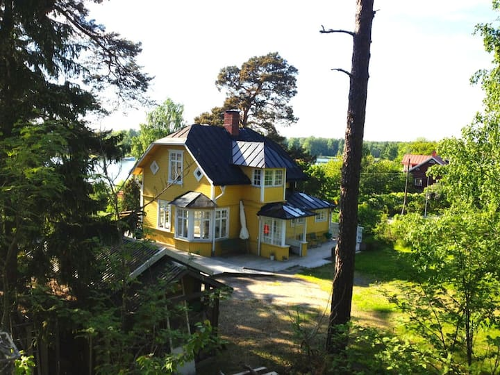 Charming island villa with sea view