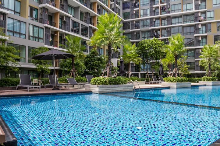 BrandNew1BR Udomsuk - Bangkok - Appartement