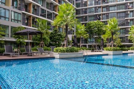 BrandNew1BR Udomsuk - Bangkok